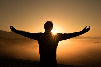 Gratitude replacing suffering with Joy