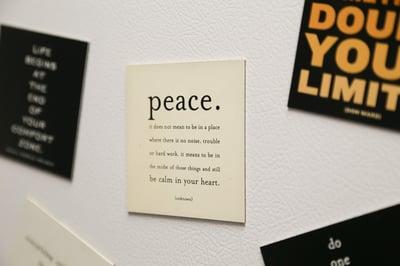 Finding Peace Meditation Practice