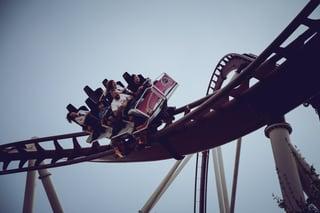 work-life balance roller coaster
